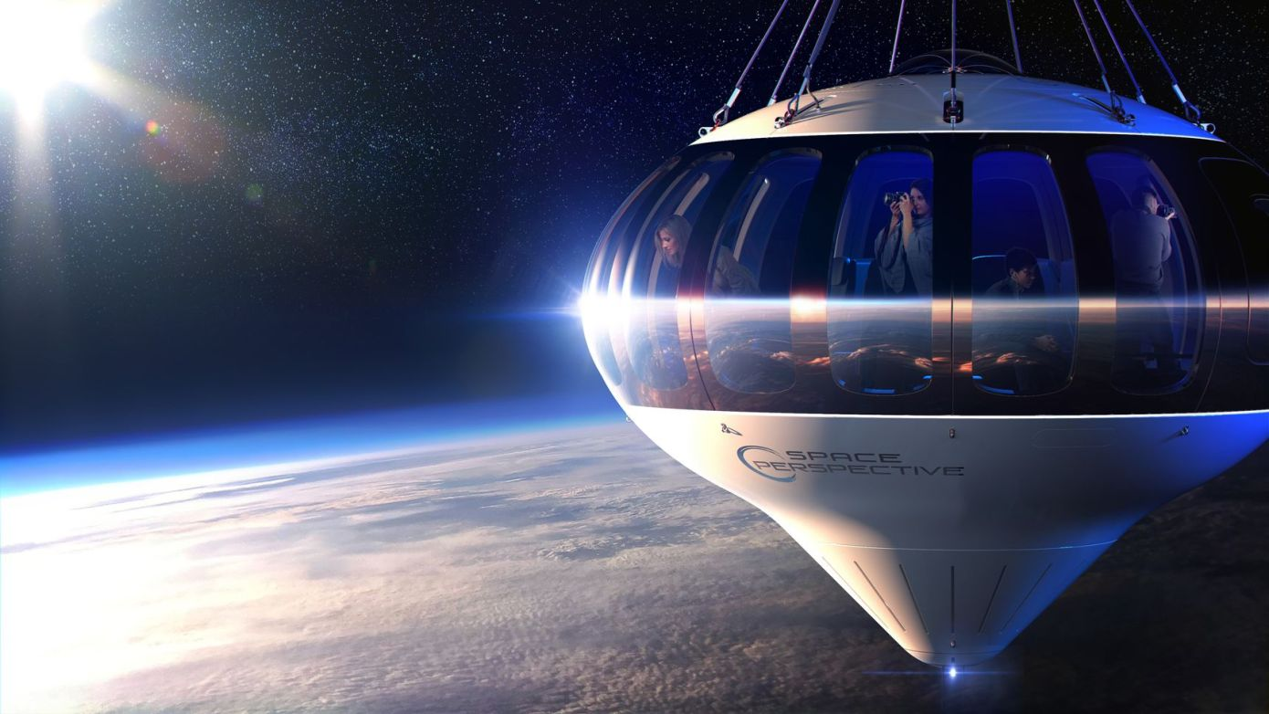 Obrázek: Vbalonu do stratosféry: Extravagantní skoro-vesmírná turistika už vroce 2021