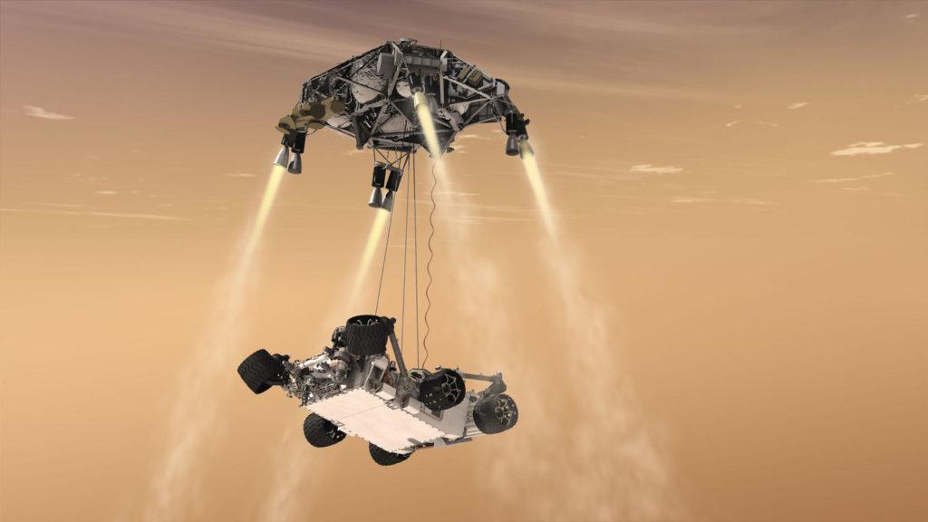 Obrázek: Přistání na Marsu bylo úspěšné! První fotografie z roveru Perseverance dorazily na Zemi