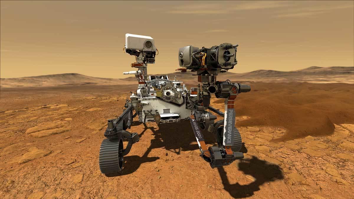 Obrázek: Rover Perseverance už je skoro hotový, na Marsu přistane vúnoru příštího roku. Hledat bude známky života