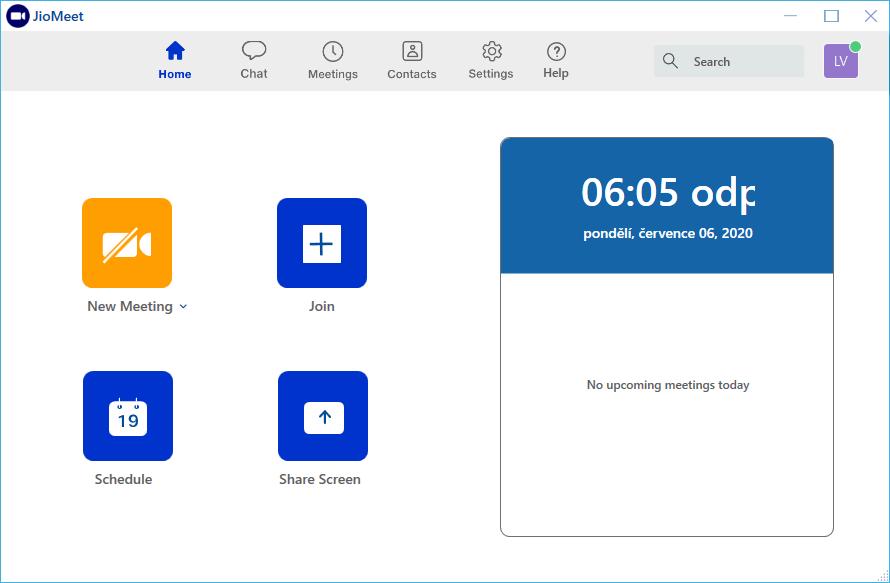 Obrázek: Nová konkurence pro aplikaci ZOOM: JioMeet zvládá videohovory zdarma dlouhé až 24 hodin