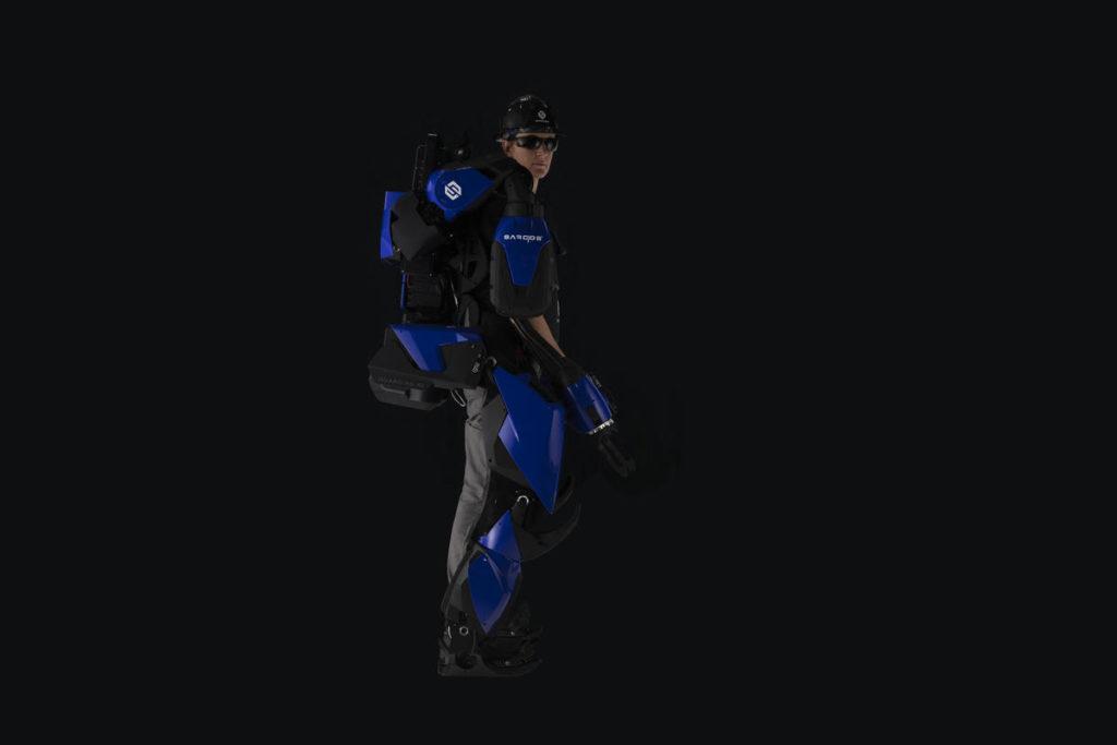 Obrázek: Exoskelet pro mariňáky má zvýšit sílu člověka, uplatnění nalezne v logistice