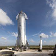 Obrázek: Prototyp Starship od SpaceX konečně vzlétl, i když jen na pár sekund