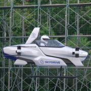 Obrázek: Éra létajících automobilů se blíží, pilotovaný test vozidla SD-03 dopadl dobře