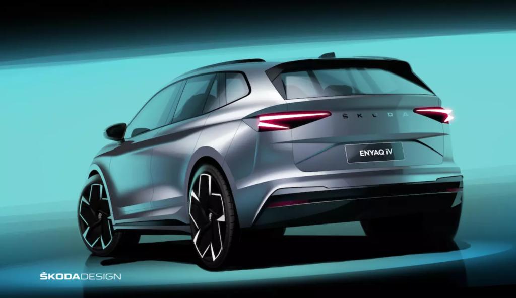 Obrázek: Elektromobil s dojezdem 500 km: Škoda Enyaq iV je jako tiše plující kosmická loď