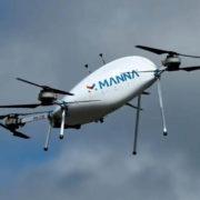 Obrázek: Tesco experimentuje sdodávkami zboží pomocí dronů, zatím jen vIrsku
