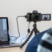 Obrázek: Canon reaguje na nedostatek webkamer na trhu: Stačí fotoaparát a program do PC
