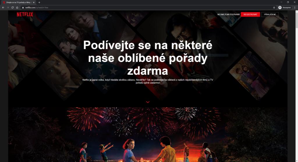 Obrázek: Netflix zdarma i v Česku: Bez registrace si pustíte i legendární Stranger Things