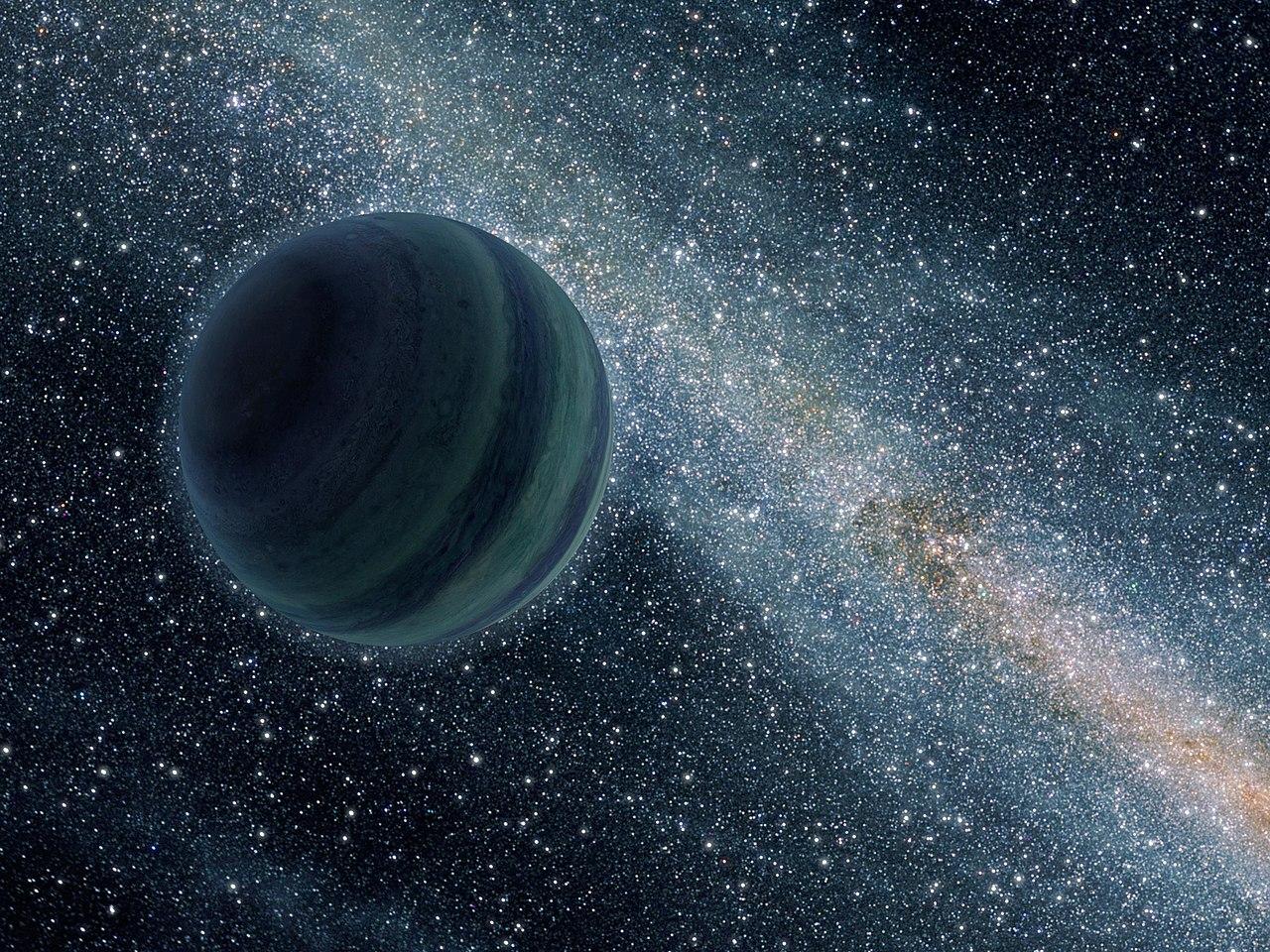 Obrázek: Vědci objevili vnaší galaxii toulavou planetu o velikosti Země