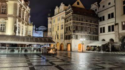 Obrázek: Jak fotí nejlepší fotomobil na světě? Fotografie noční Prahy z Huawei Mate 40 Pro