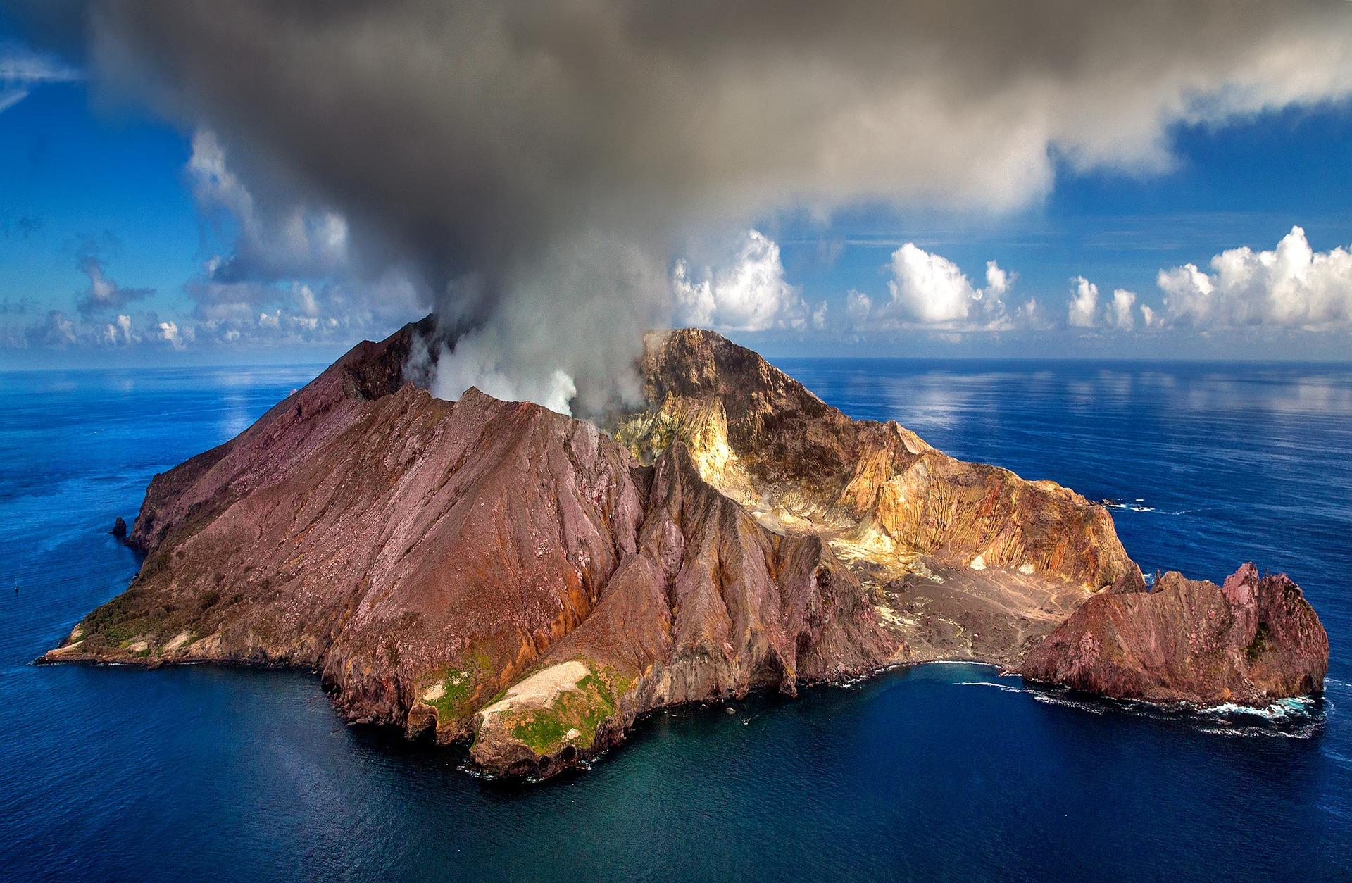 Obrázek: Lepší predikce sopečných erupcí díky dronům