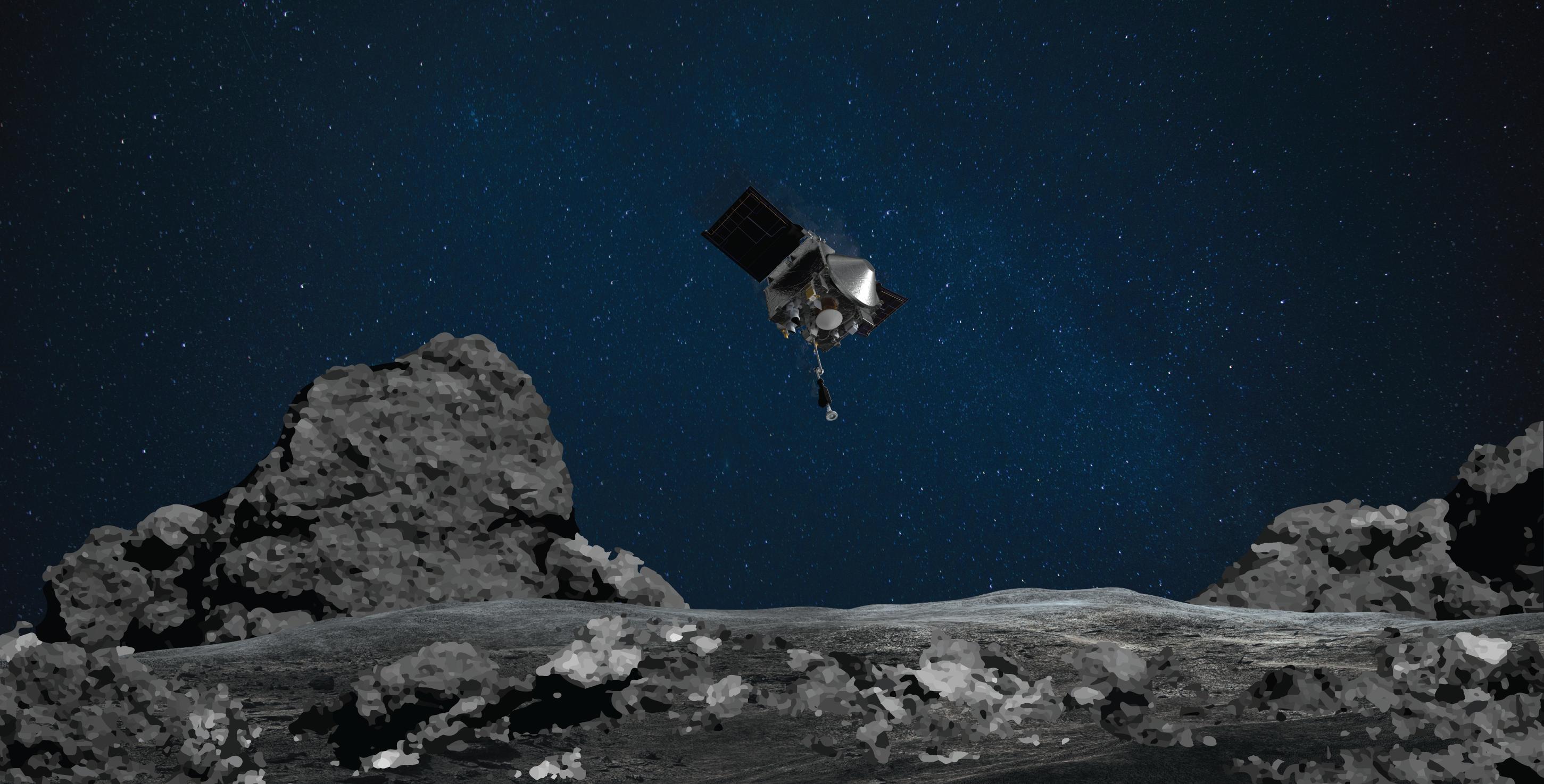 Obrázek: Další úspěch NASA: Sonda OSIRIS-REx úspěšně sesbírala materiál zasteroidu