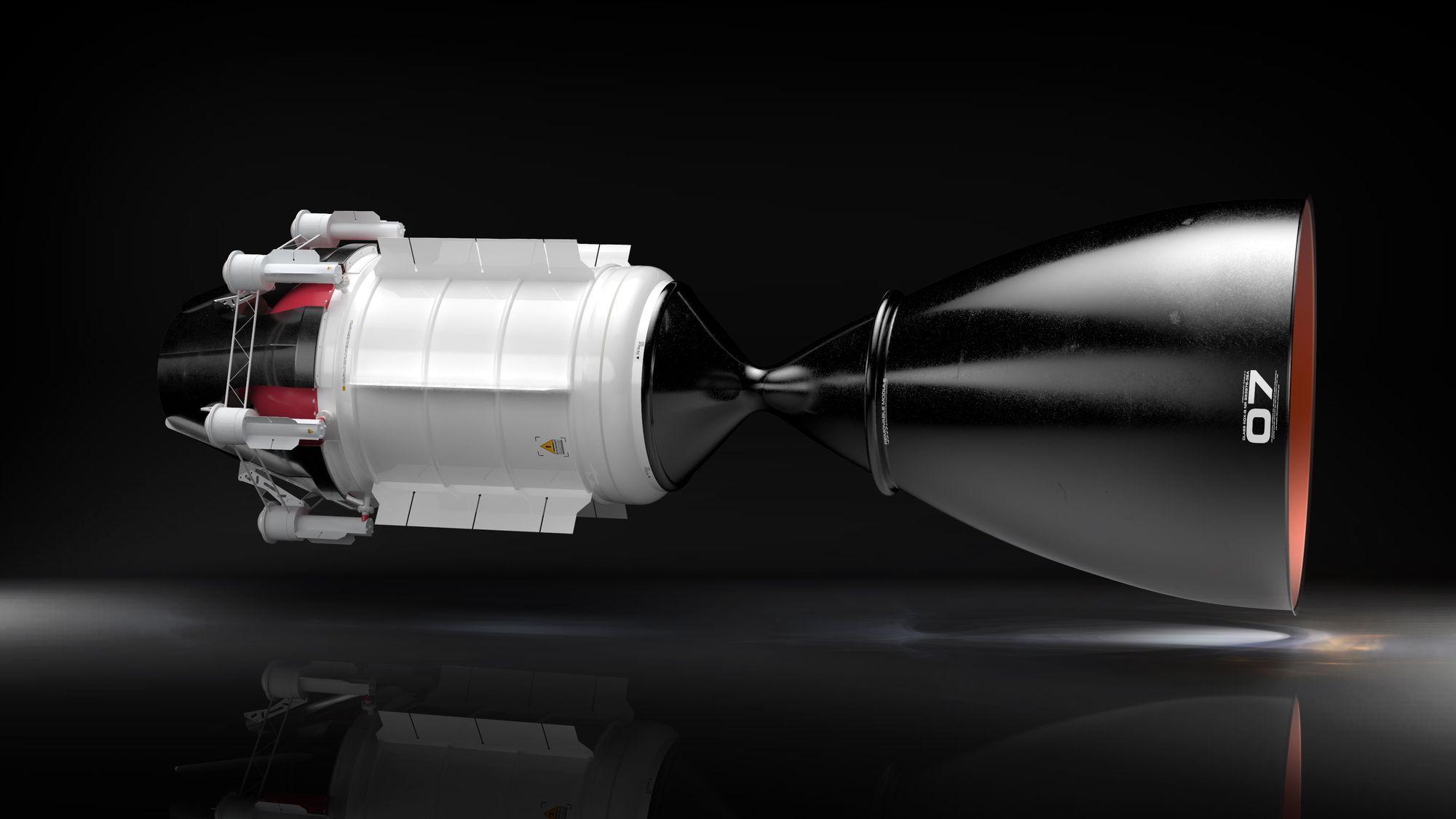 Obrázek: Rakety na jaderný pohon: Rychlejší cesta vesmírem