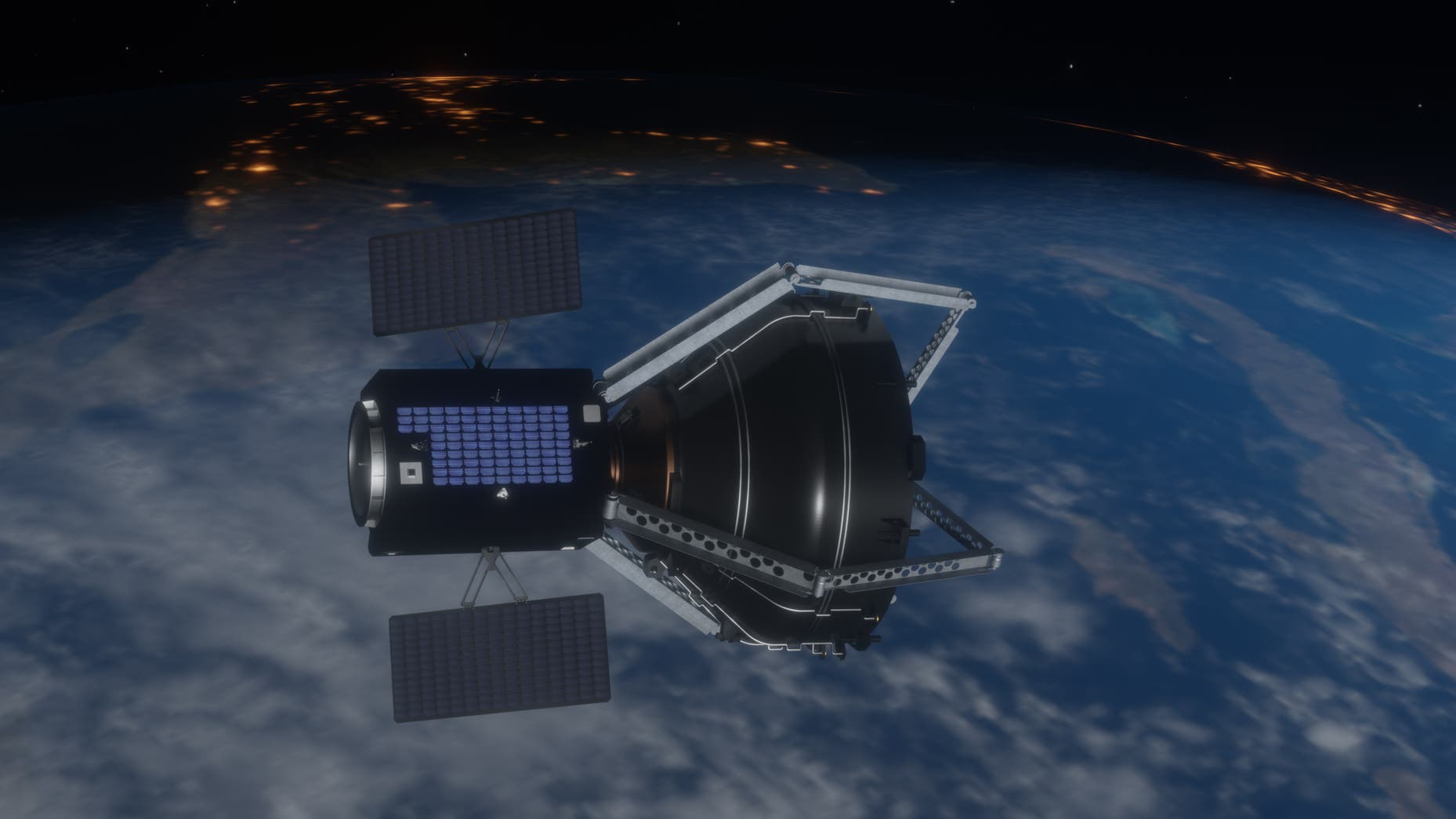 Obrázek: ESA vyčistí oběžnou dráhu Země: Vesmírný odpad zůstává problémem