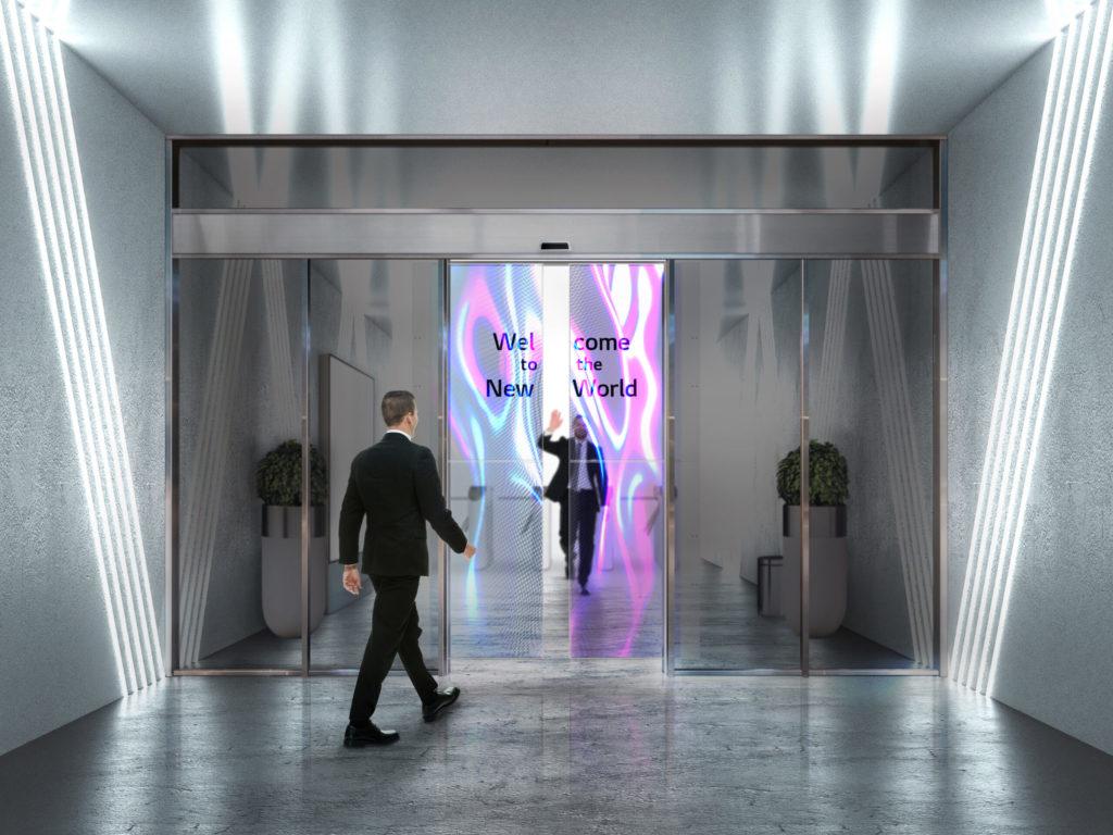 Obrázek: Průhledné dveře sOLED displeji se blíží, LG už je umí stavět