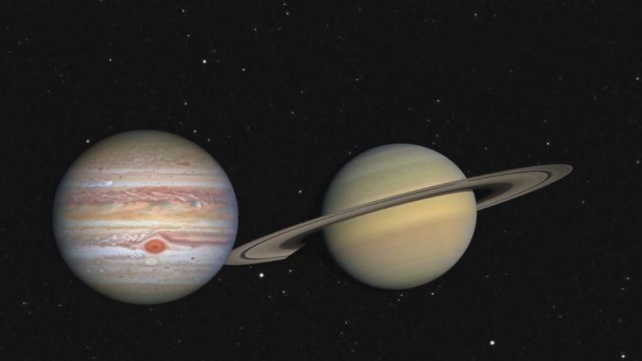 Obrázek: Betlémská hvězda na unikátních fotografiích NASA z Měsíce