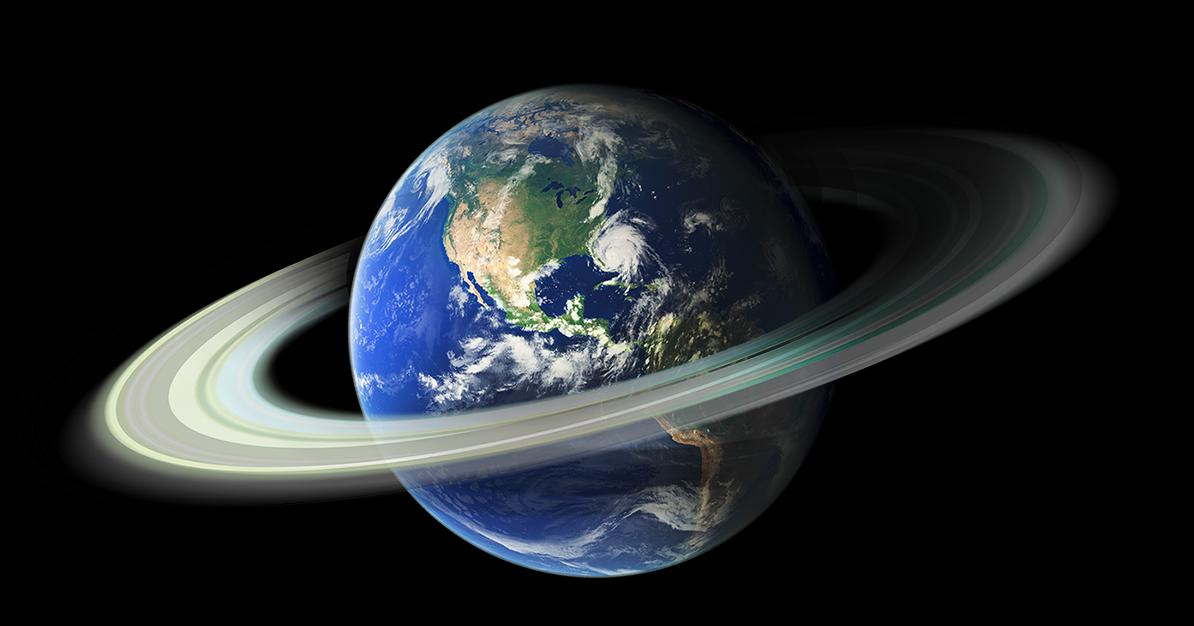 Obrázek: Jak vznikají planetární prstence? I Země jeden takový kdysi měla