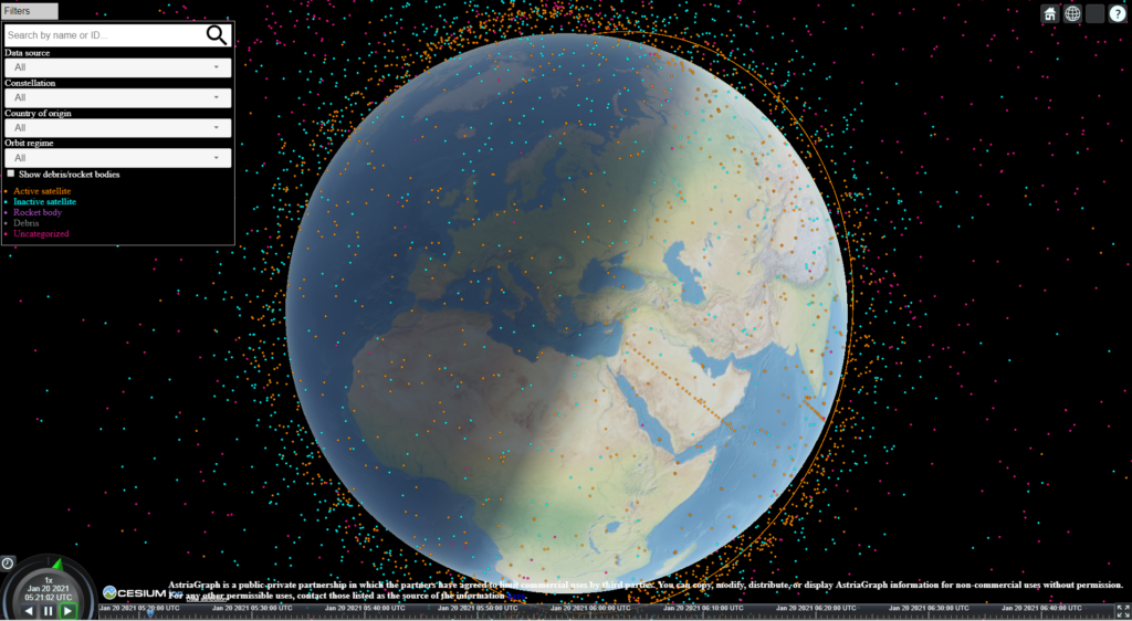 Obrázek: Jaké je riziko srážky objektů na oběžné dráze Země?