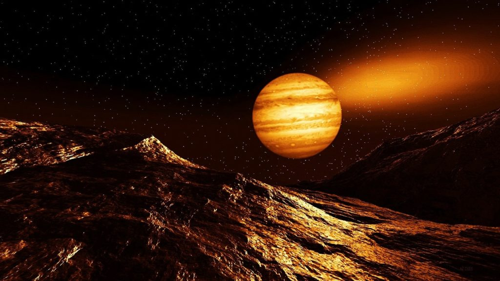 Obrázek: Na horkém Jupiteru bez mraků WASP-62b trvá rok jen 4 dny