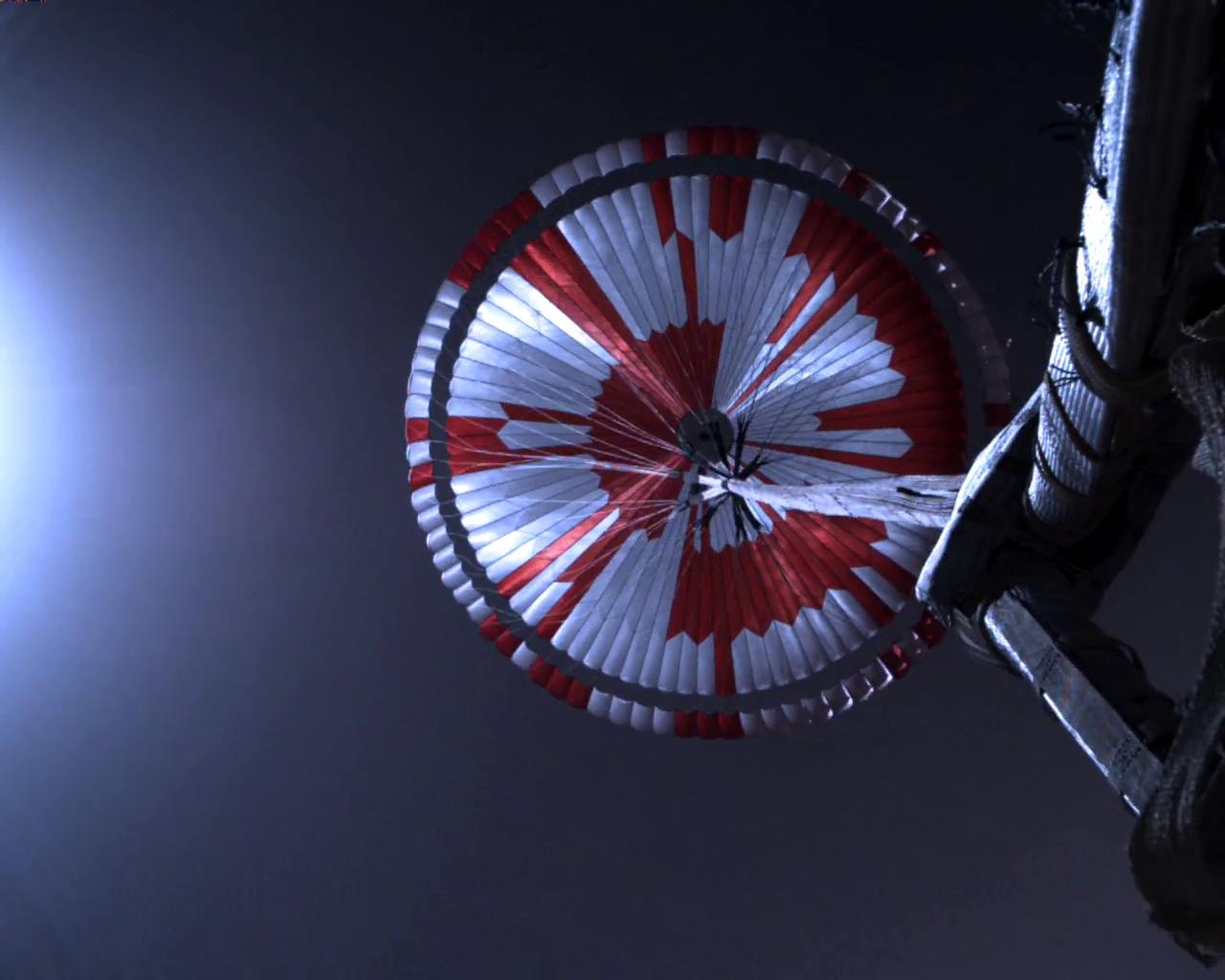 Obrázek: První video dorazilo na Zemi: Unikátní záběry z přistání na Marsu nadchly internet