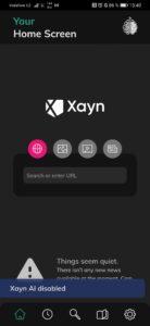 Obrázek: Vyhledávač Xayn využívá umělou inteligenci, o svém soukromí rozhodujete sami