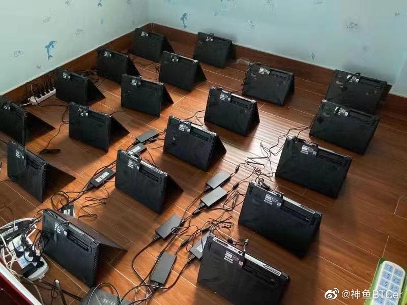 Obrázek: Nedostatek grafických karet vyřešili těžaři kryptoměn nákupem herních notebooků