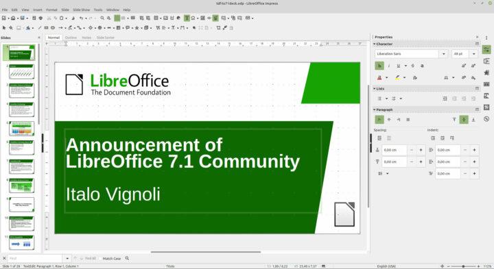 Obrázek: Nejlepší bezplatný kancelářský balík v nové verzi: Co umí LibreOffice 7.1?