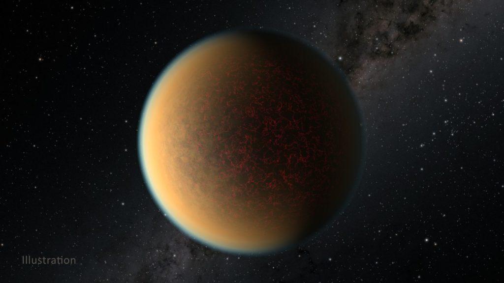 Obrázek: ZNeptunu Venuší: Transformace exoplanety vpřímém přenosu