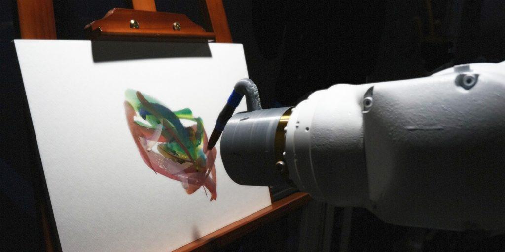 Obrázek: Může robot vytvořit umění? Odpověď na otázku hledají japonští vědci