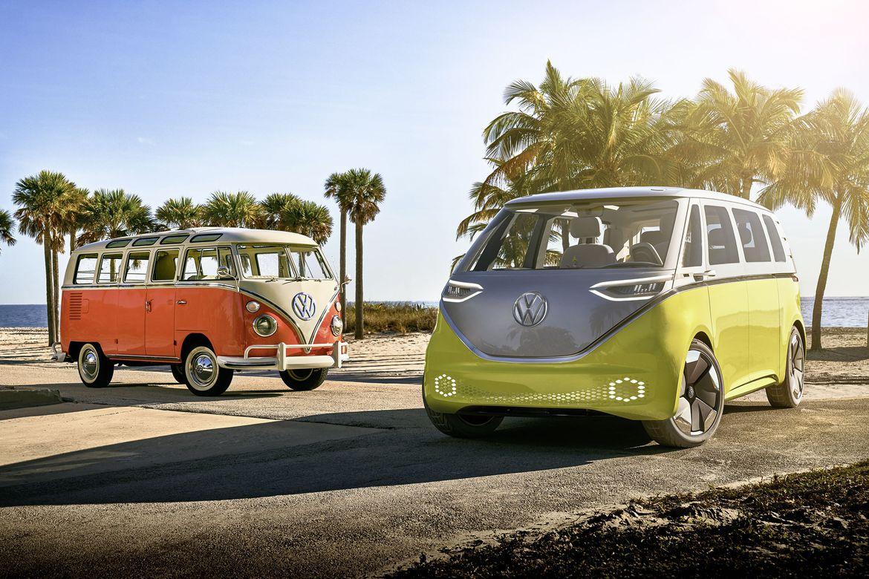 Obrázek: Volkswagen naváže na legendu éry hippies: Mikrobus VW ID.Buzz je elektromobil