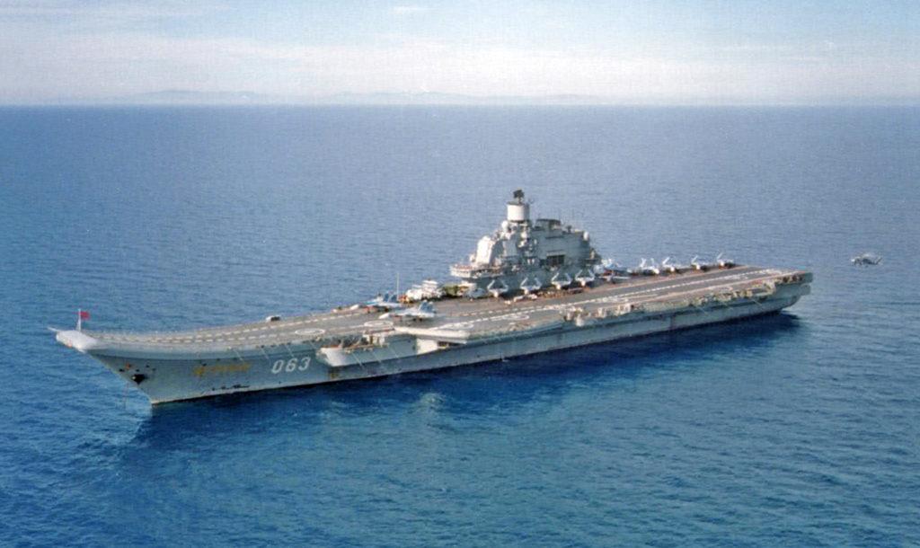 Obrázek: Ruský Admirál Kuzněcov se vrátí na moře a dostane systémy pro elektronickou válku
