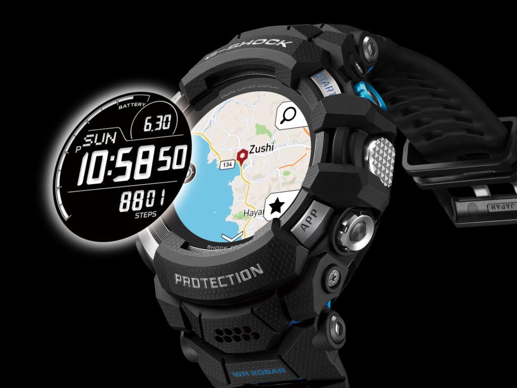 Obrázek: Opravdu odolné a drahé chytré hodinky: První G-Shock od Casio s barevným displejem