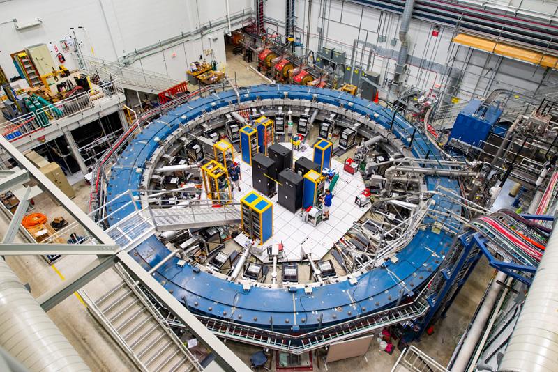 Obrázek: Miony: Odhalí záchvěvy elementárních částic novou fyziku?