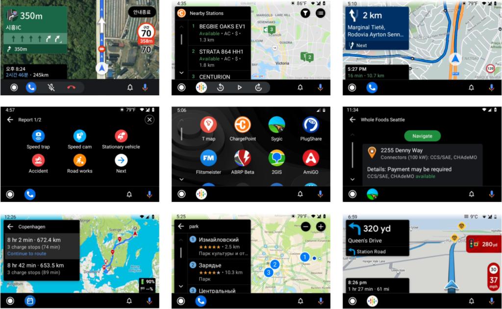 Obrázek: Nové aplikace pro Android Auto: Alternativní navigace i parkovací software