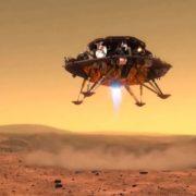 Obrázek: Čína tvrdí, že úspěšně přistála na Marsu: Rover Zhurong bezpečně dosedl