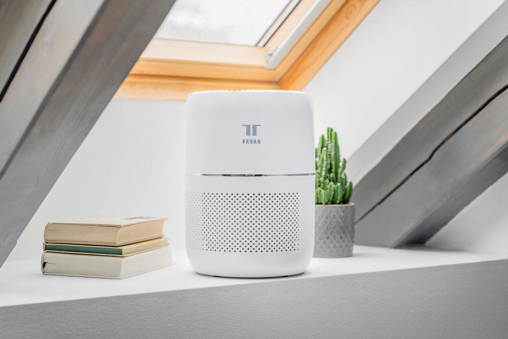 Obrázek: Chytrá česká čistička vzduchu do ložnic a obýváků: Jaká je Tesla Smart Air Purifier Mini?