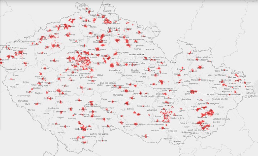 Obrázek: Mapa pokrytí 5G v ČR: Aktuální přehled dostupnosti rychlé sítě