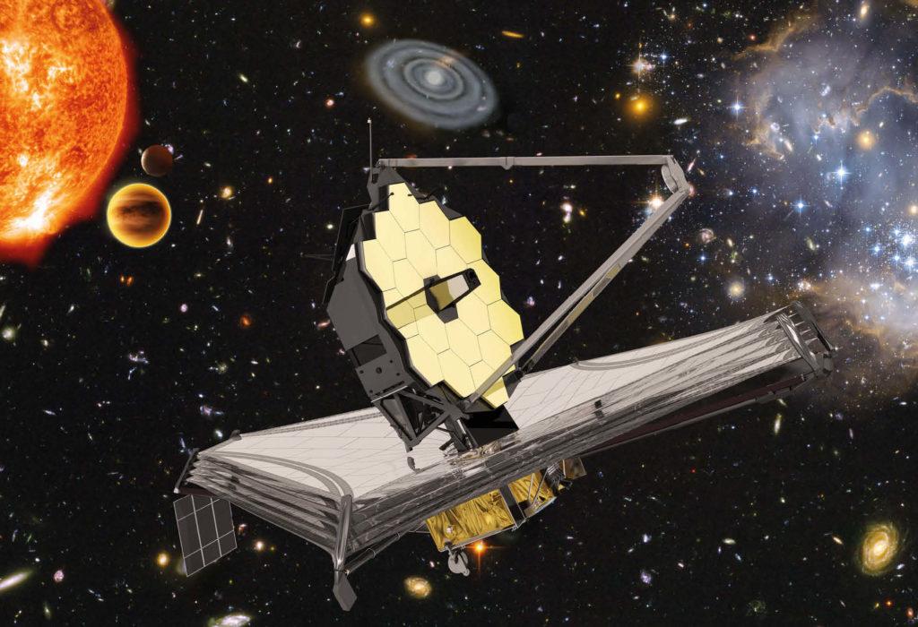 Obrázek: A zase ne. NASA opět odložila start Vesmírného dalekohledu Jamese Webba