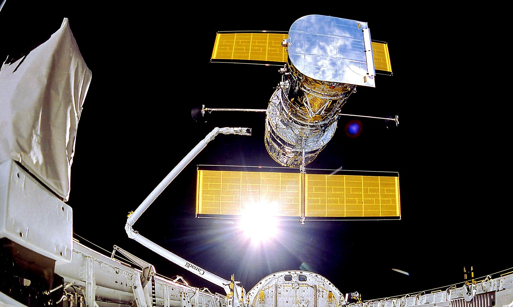 Obrázek: NASA má vážné problémy s Hubbleovým teleskopem, závadu se nedaří odstranit