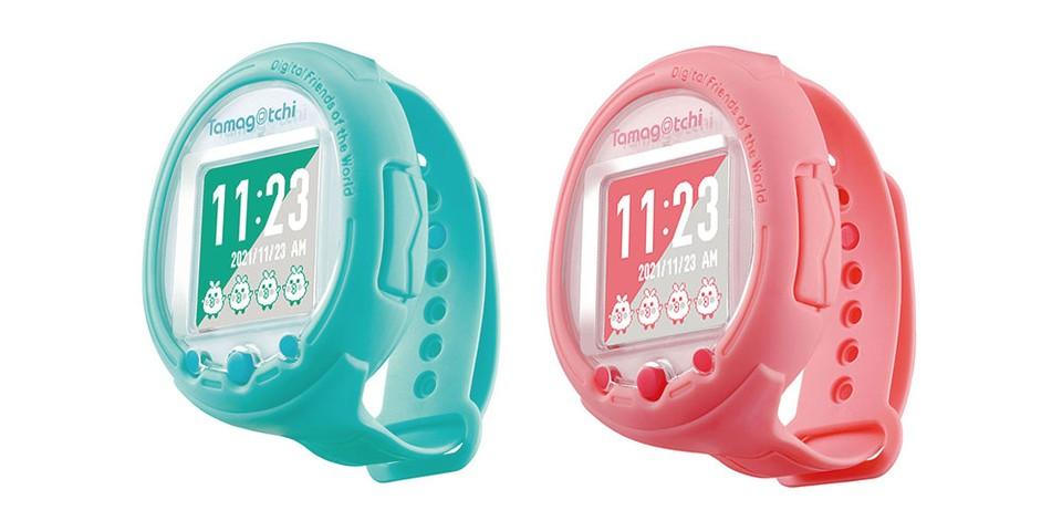 Obrázek: Chytré hodinky s Tamagoči uvnitř: Japonci představili bláznivý model s netradičními funkcemi