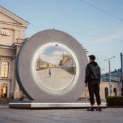 Obrázek: Hvězdná brána mezi městy: Vilnius se vzdáleně spojil sLublinem