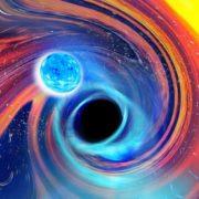 Obrázek: Spojení černé díry a neutronové hvězdy: Gravitační vlny pomáhají odhalovat další tajemství vesmíru