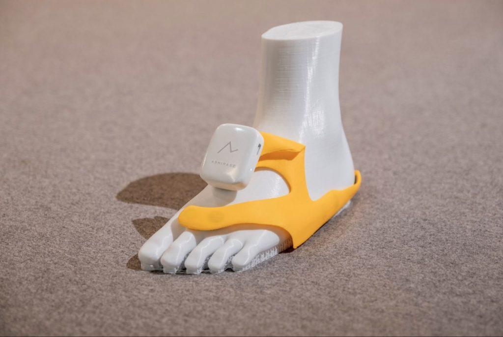Obrázek: Netradiční navigace se nasazuje na nohy: Lechtáním navede turisty i nevidomé