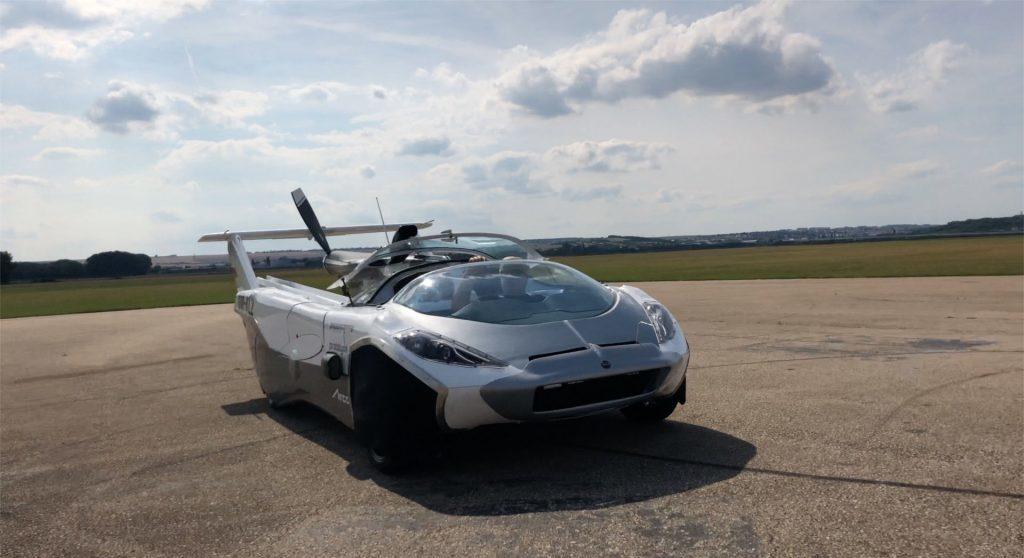 Obrázek: Slovenské auto doletělo zNitry do Bratislavy: Jaké bude cestování létajícím autem?