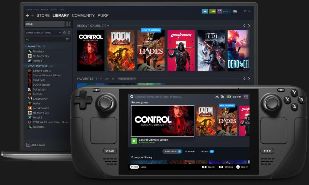 Obrázek: Steam Deck: Valve konečně oznámilo svůj handheld