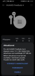 Obrázek: Recenze Huawei Freebuds 4 s ANC: Když preferujete pecky místo špuntů