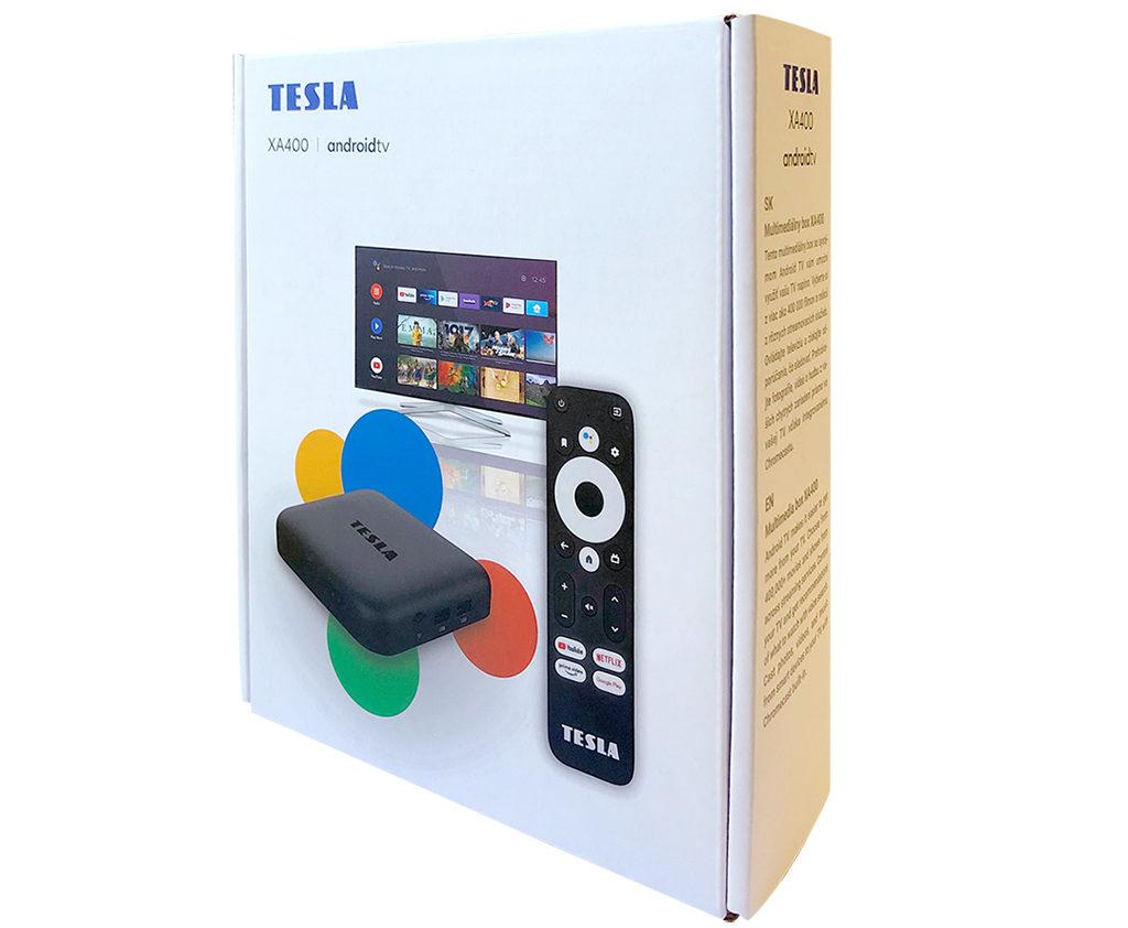 Obrázek: Recenze Tesla MediaBox XA400: Udělejte chytrou Android TV i ze staré televize