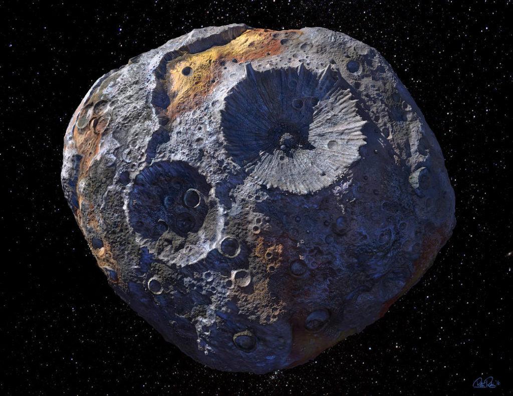 Obrázek: Nejpřesnější měření teploty povrchu asteroidu ze Země v historii