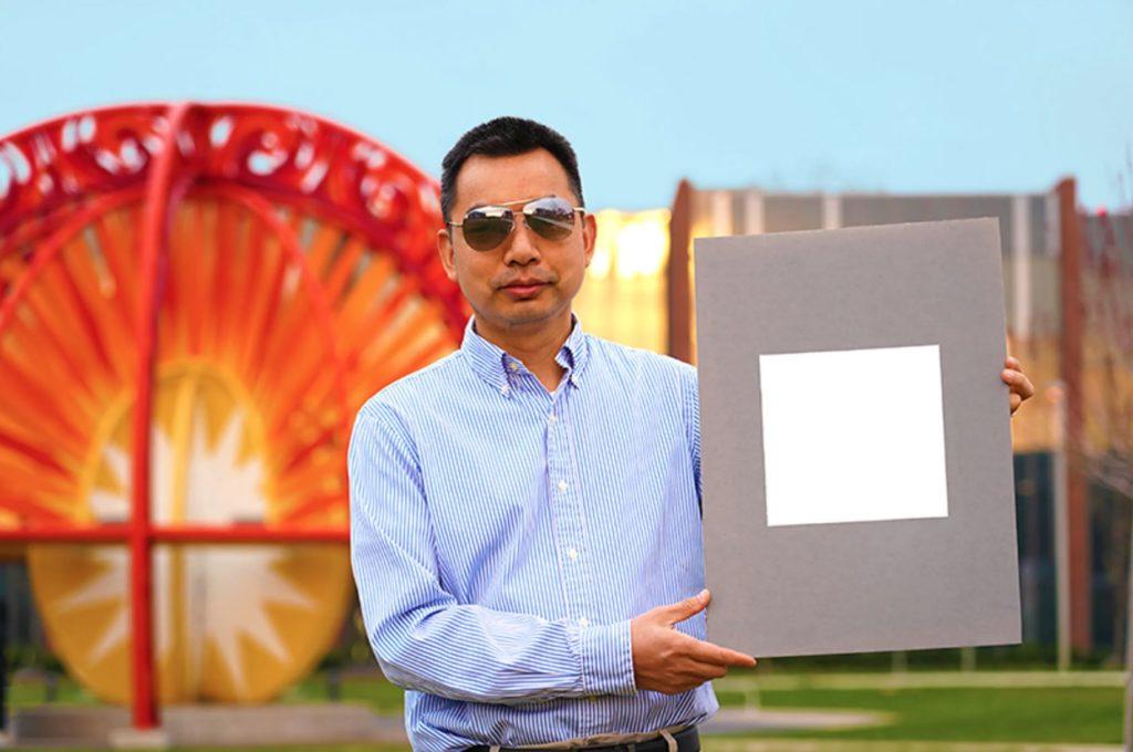 Obrázek: Extrémně bílá barva má záznam v Guinnessově knize rekordů: Mohla by nahradit klimatizace